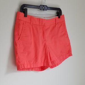 J.Crew 100% Cotton Melon Broken-In Chino Shorts